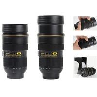 Telescopic Coffee Camera Lens Mug Cup Creative Travel Mugs Thermo Camera Cups Modeling Nikon AF S