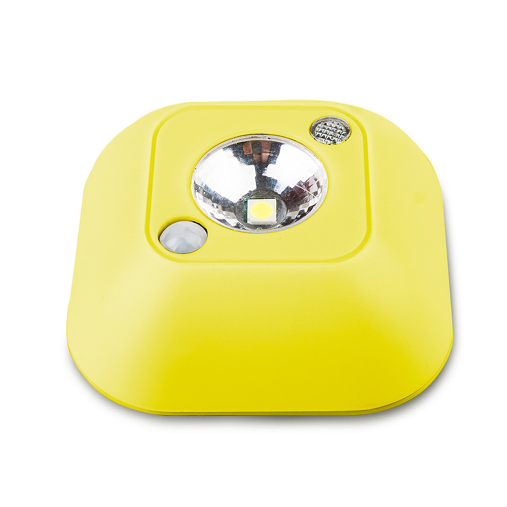 SuperNight Mini PIR Motion Sensor LED Ceiling Lamp Human Body Dual Induction Portable Closet Stairs Toilet Camping Night Light (1)