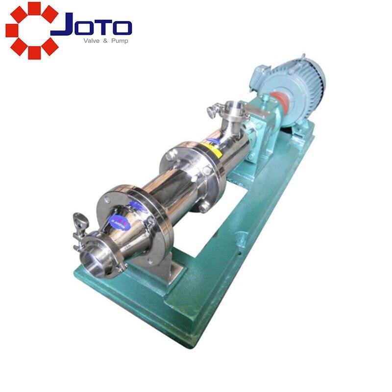 Pompe d'acier inoxydable de G10-0.35kw pompe à boue épaisse pompe à boue convoyeur à vis d'alimentation liquide