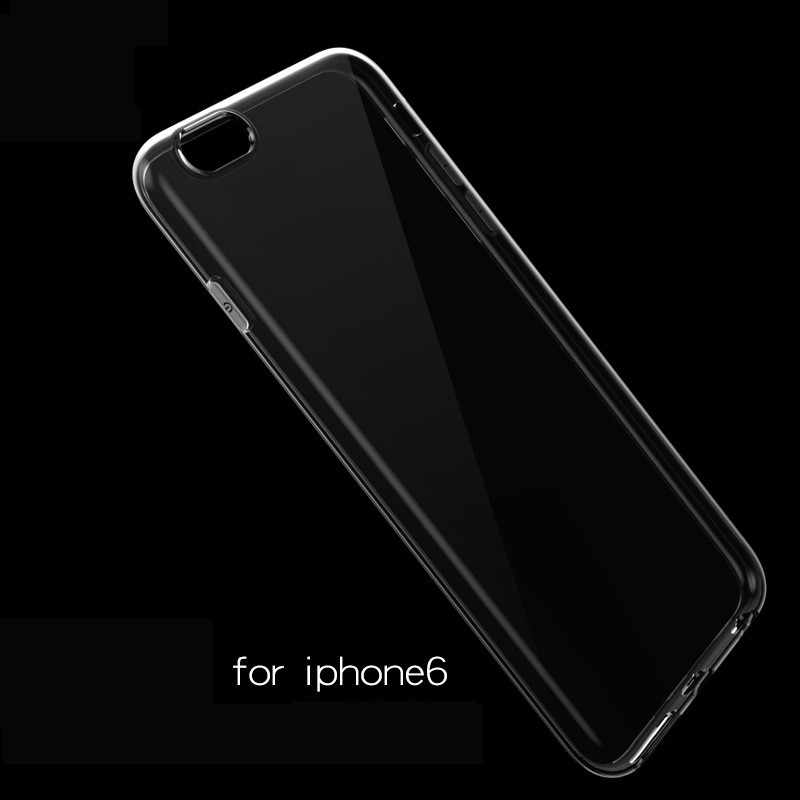 1pcs Ultra Thin Soft TPU shell mobile phone case Applicable to iphone xs max protective cover transparent soft shell