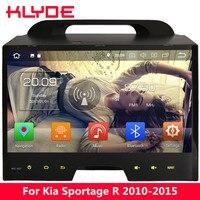 KLYDE 10,1 ips Octa Core 4 г WI FI Android 8,0 7 4 ГБ Оперативная память + 32 ГБ автомобильный DVD мультимедийный плеер Радио стерео для Kia Sportage R 2010 2015