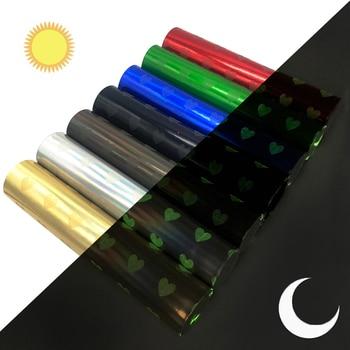 Accesorios David 20*34cm brillan en la oscuridad amor cuero sintético de vinilo para el pelo arco DIY proyectos bolso de mano cartera zapatos, 1Yc6347