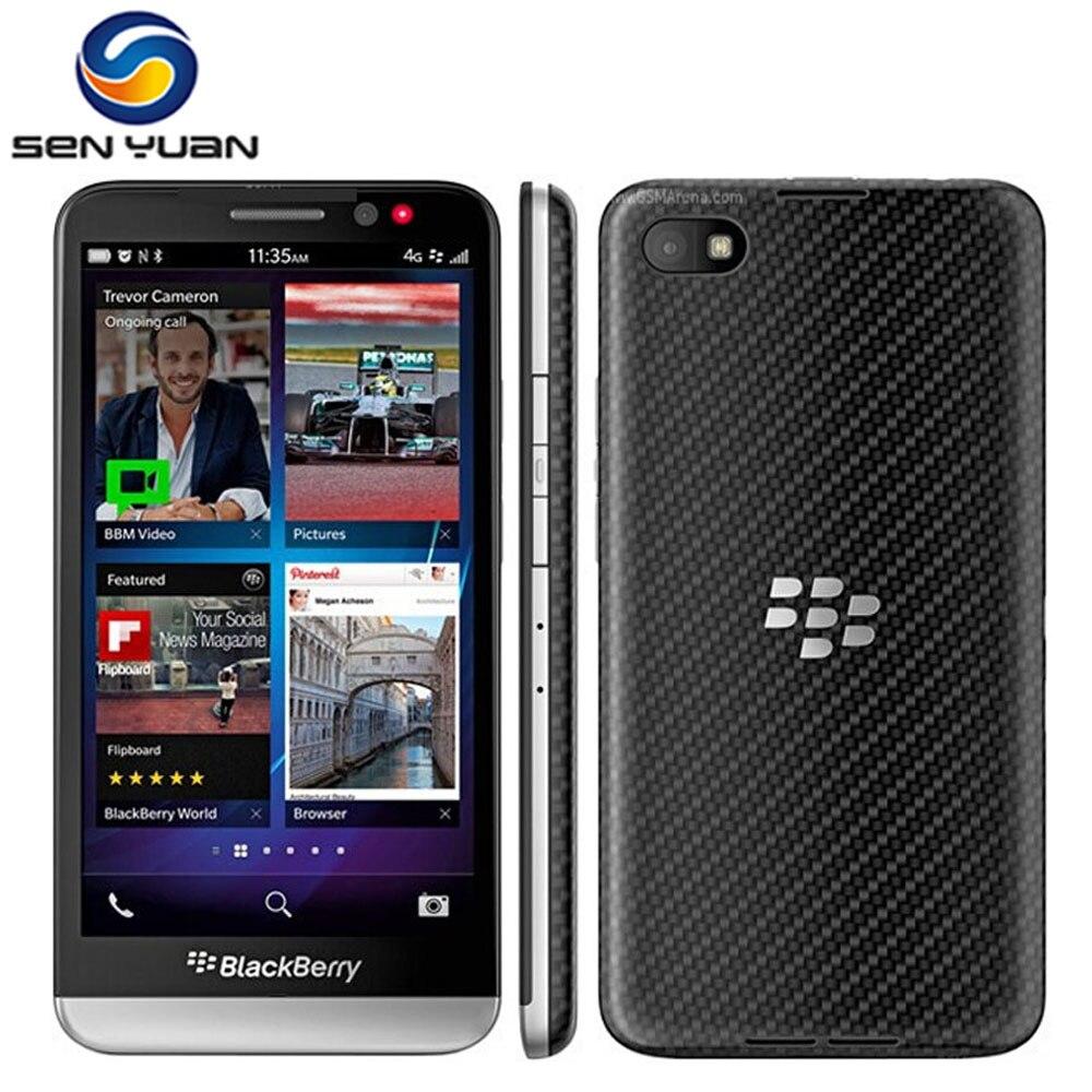 """Цена за Оригинальный BlackBerry Z30 Разблокирована сотовый телефон 8.0MP Камера 5 """"Экран Dual Core 16 ГБ ROM 3 Г & 4 Г WI FI GPS z30 мобильный телефон"""