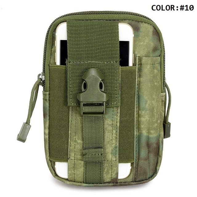 Travel & Sports Medical Kit Emergency Waist Bag Convenient First Aid Kit Camo Style