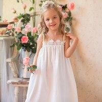 Children Clothing Summer Dresses Girls Baby Pajamas Cotton Princess Nightgown Kids Home Cltohing Girl Sleepwear Slip dress