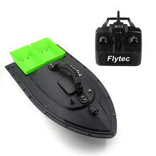 Flytec 2011-5 Fish Tool Dual Motor Fish Finder Finder RC Bait Boat Toy Loading 500m Remote Control Fishing Bait Boat RC Boat