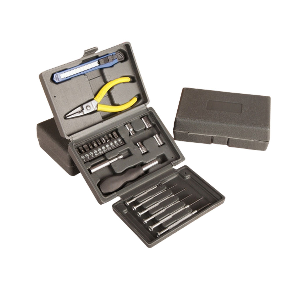 High Quality Household Tools Multifunction 24PCS  carbon steel Tools Hardware Combination Tool Set BS high quality screwdriver combination set unique telescopic function