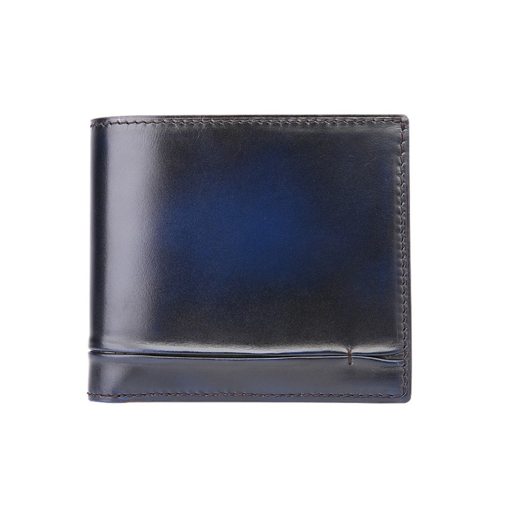 TERSE 10 MOQ genuine leather font b men b font short font b wallet b font