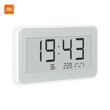 شاومي Mijia BT4.0 اللاسلكية الذكية الكهربائية ساعة رقمية داخلية وخارجية الرطوبة ميزان الحرارة LCD أدوات قياس درجة الحرارة