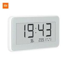 Xiaomi reloj eléctrico inteligente inalámbrico Mijia BT4.0, Digital, termómetro de interior e higrómetro de exterior, herramientas de medición de temperatura LCD