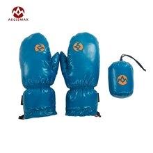 AEGISMAX Unisex Winter Warm Nylon 95% White Goose Down Glove