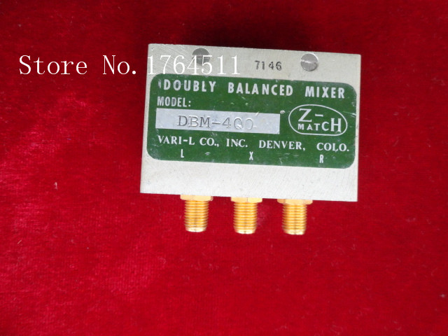 [BELLA] Z-MATCH DBM-400 RF/LO:0.01-3GHz RF RF Coaxial Mixer SMA