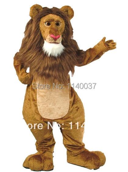 mascot King lion simba Alex LEO mascot costume custom fancy costume anime cosplay kits mascotte fancy dress