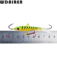 1Pcs 8.3cm 18g Jigging Fishing Lure winter Ice Jig Fishing Hard Bait Minnow Pesca Tackle Isca Artificial Bait Crankbait Swimbait