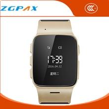 Reloj Intelligente 2016 Uhr Telefon Tragbare Geräte GPS SOS Montre Connecter Uhr Tracker Ältere/Erwachsene Smartwatch IOS/Android