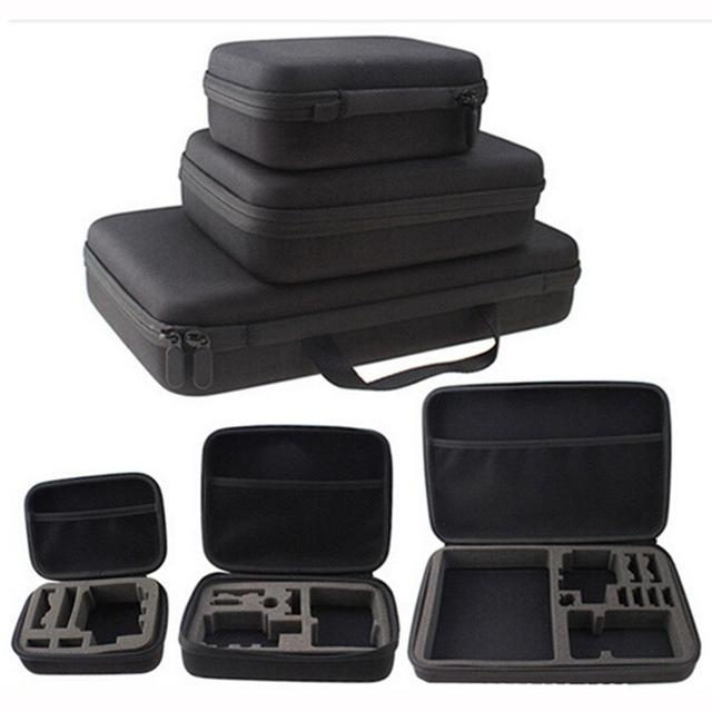 Camera Accessory  Portable Anti-shock Protective Storage Carrying Case for GoPro Hero 5/4/3+ Small Medium Large Size 3 types
