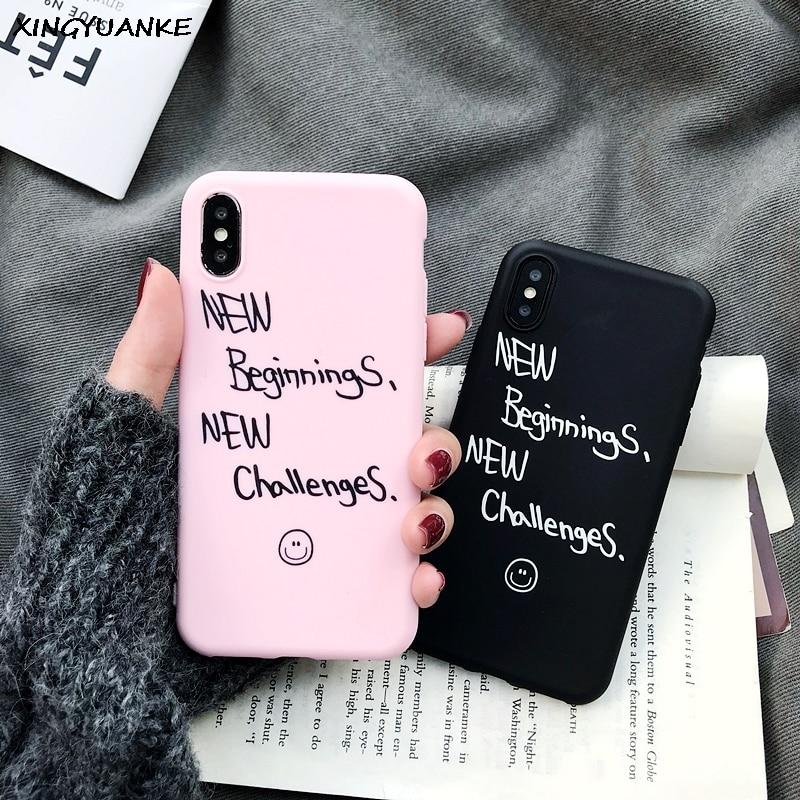Silicone Cases For Samsung Galaxy S20 S10 S10E S9 S8 Plus S7 S6 Edge Cute Couple Letter Cover For Samsung Note 10 Pro 9 8 Case