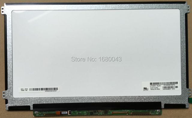 "Envío gratis IPS LP116WH6 SLA1 LP116WH6 (SL) (A1) 11.6 ""Panel LCD Portátil de Pantalla WXGA HD LED de 40 PINES de IZQUIERDA + DERECHA orificios de los tornillos"