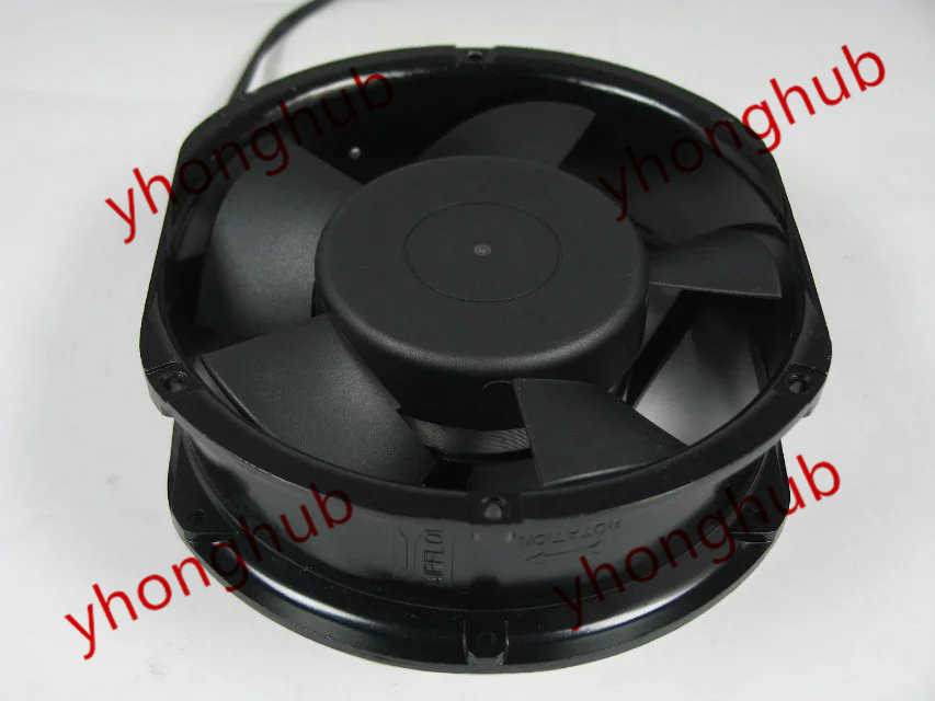 Emacro SHYUAN YA A2V15C51TBT-1C AC 230V 25/32W 172x172x51mm Server Round fan free shipping new uf 15pc23 bth ac 230v 29w 172x150x51 server round cooling fan