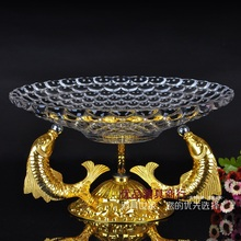 European fruit tray Creative bowl Goldfish KTV compote candy dishes fashion plate of cake