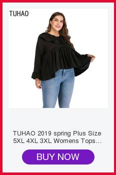 TUHAO 2019 Spring Summer Women Active Dress Plus Size 6XL 5XL 4XL ... 57195bc2ccd3