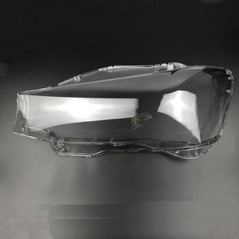 676cdcdb6159 Для BMW X3 корпус фары 14-16 лет фар прозрачная lampshadeheadlight корпус  лампы фар защитная