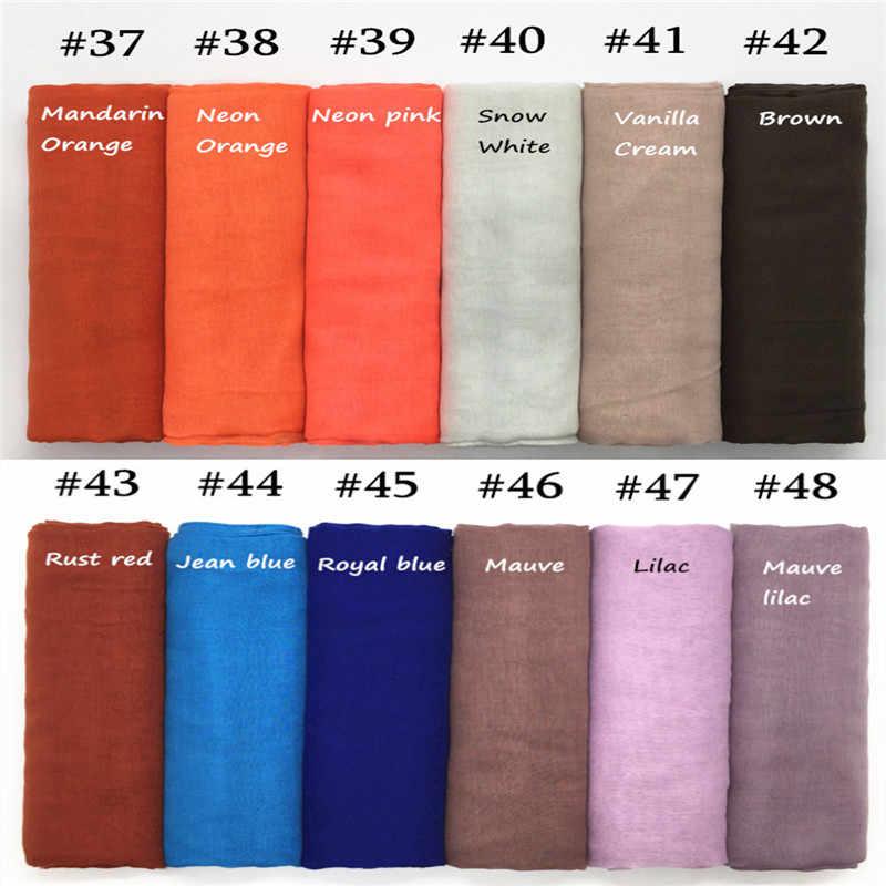 2019 bufandas de gran venta para mujer, bufandas lisas para mujer, bufandas para mujer, bufandas de moda, 1 pieza
