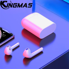 I9 I9S TWS Wireless Earphone Portable 5.0 Bluetooth Headset Invisible Earbud for iPhone huawei xiaomi all smart phone PK I7S