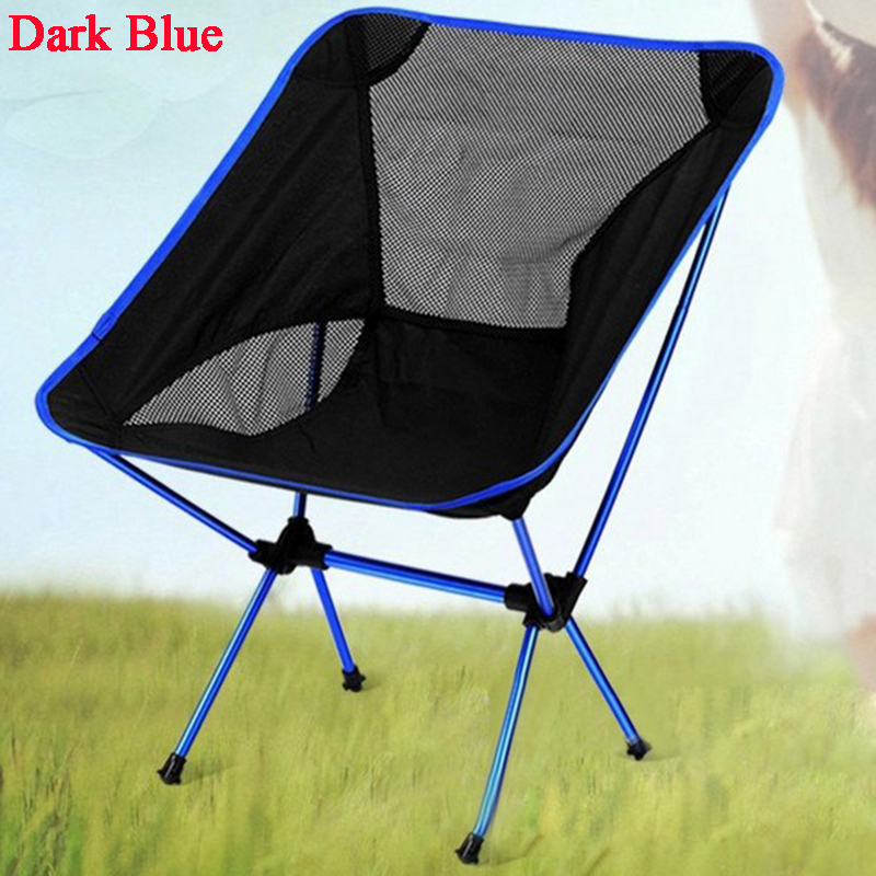 2017 Red Folding Chair Outdoor Camping Seat Picnic Beach Fishing Barbecue Party Portable Seat High Quality H195-1 portable outdoor aluminium alloy fishing chair seat folding stool camping hiking picnic chairs barbecue h199