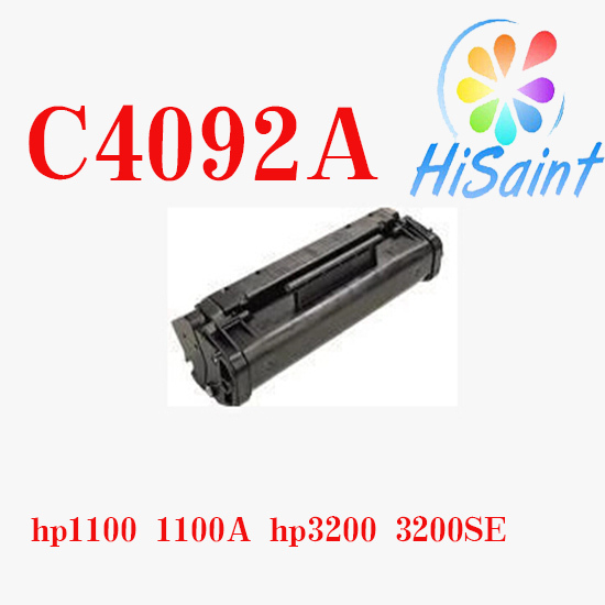 ФОТО for HP Printer ink Cartridge Black Compatible Toner Cartridge for HP C4092A/Canon EP-22 for HP Printer Model 1100 1100 3200 3200