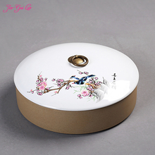 Jia-gui luo китайская керамическая коробка для хранения чая пуэр, сухофрукты, китайская медицина, хороший выбор, с декоративной ценностью
