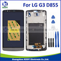 For LG G3 D855 D850 LCD Display+Touch Screen with frame Digitizer Full Assembly display repair+tools