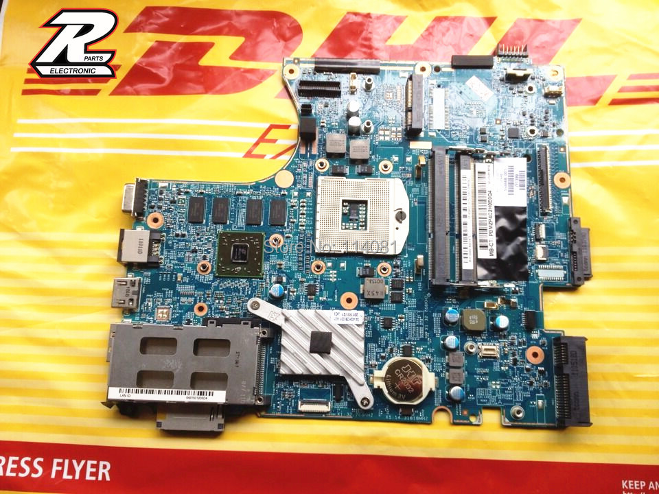 ФОТО For HP ProBook 4520S 4720S Notebook Motherboard 633551-001 / 628794-001 / 598670-001/ 598668-001