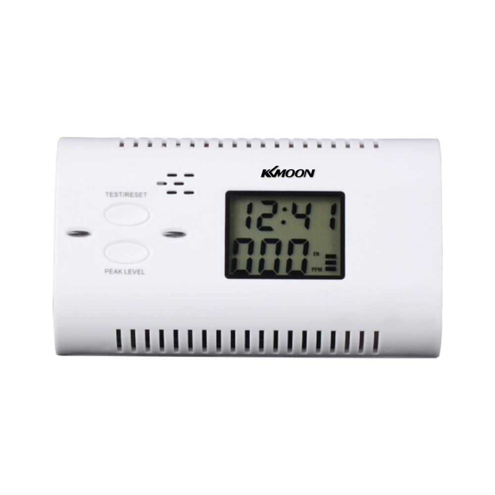 Kkmoon Carbon Monoxide Detector Co Detector Alarm Human Voice Prompt Warning Backlight Digital Lcd Display Co Sensor Detector Carbon Monoxide Detectors Back To Search Resultssecurity & Protection