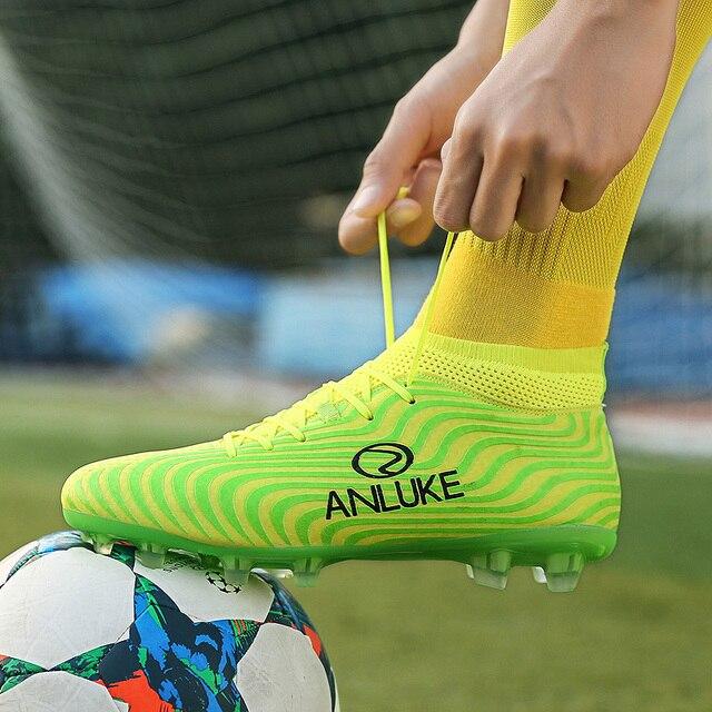 5d5229499 Zapatos de fútbol profesional SuperflyX VI Elite CR7 MD 360 FG Flywire  botas de fútbol hombres