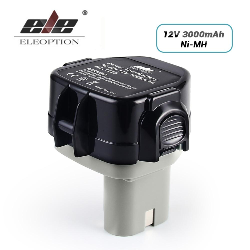 12V Extended Ni-MH 3.0AH 3000mah for MAKITA Battery 1234 1233 1235F 192698-8 193157-5 Batteries Cordless Drill Power Tool eleoption high quality 12v 3000mah ni mh battery for makita 1234 1235 1235f 193138 9 192698 a