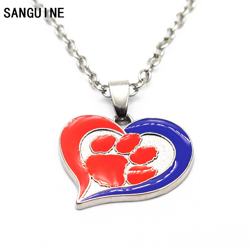 Hot selling 1pcs/lot NCAA Football team Necklace Jewelry With 50cm Chains Sports Necklace Jewelry Charms ...