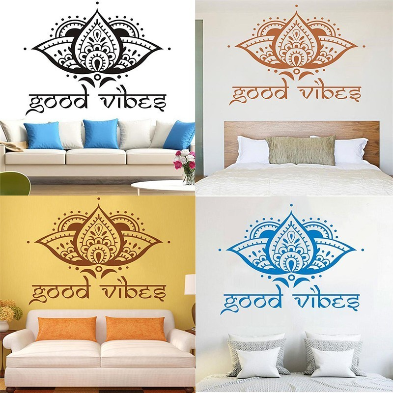 5 Colors Islamic Wall Stickers Home Decoration Wall Art