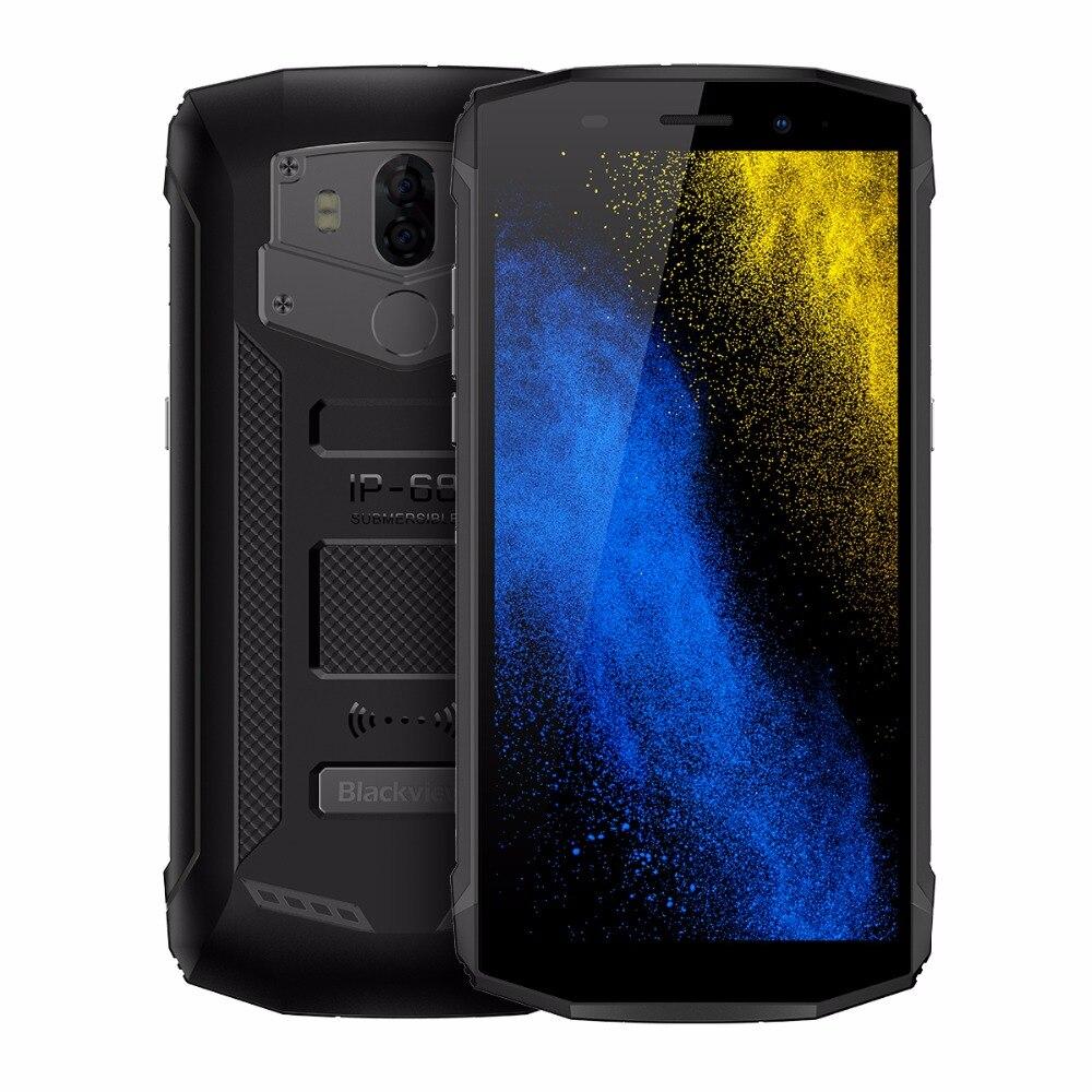 Blackview BV5800 Smartphone 5.5 inch Screen 2GB RAM 16GB ROM Android 8.1 MTK6739 Quad Core 1.5GHz Dual SIM 13MP Unlock 4G OTG