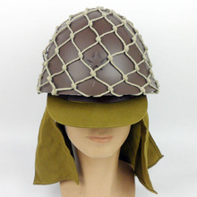 dfa0cf49089 FULL SET WWII JAPANESE 90 ARMY HELMET WITH HELMET COVER CAMOUFLAGE NET CAP  HAT IN SIZES