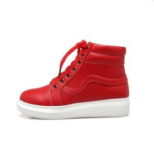 Image 2 - Zapatos My Hero Academia Izuku Midoriya para Cosplay, zapatos casuales de lona vulcanizados para mujer, zapatos altos con cordones, calzado de verano