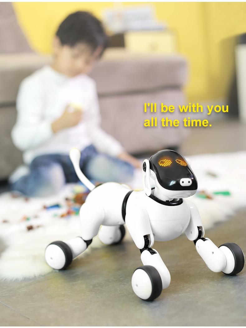 HeLICMax AI Robô inteligente Cão Eletrônico Pet