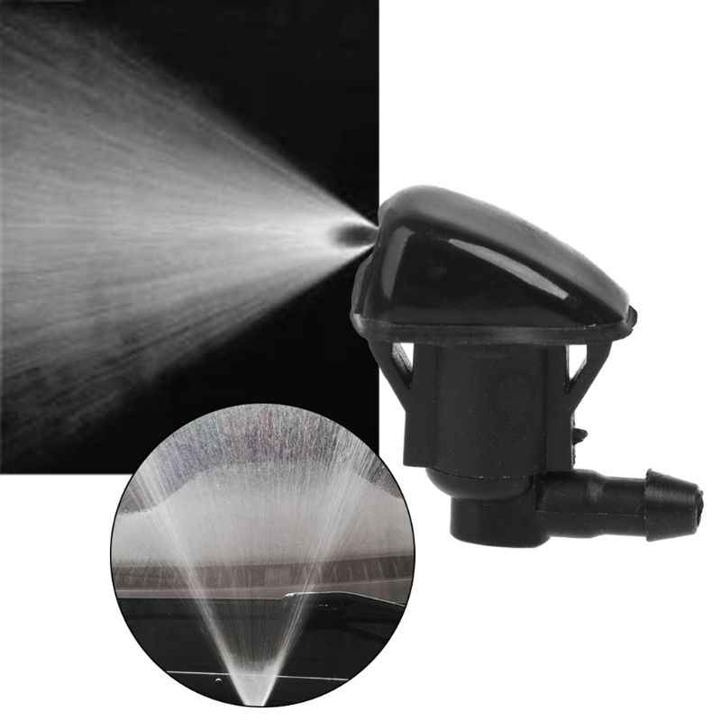 2 Pcs Mobil Kaca Depan Washer Wiper Nozzle Semprot Air Cocok untuk JEEP 2007 2008 2009 2010 2011
