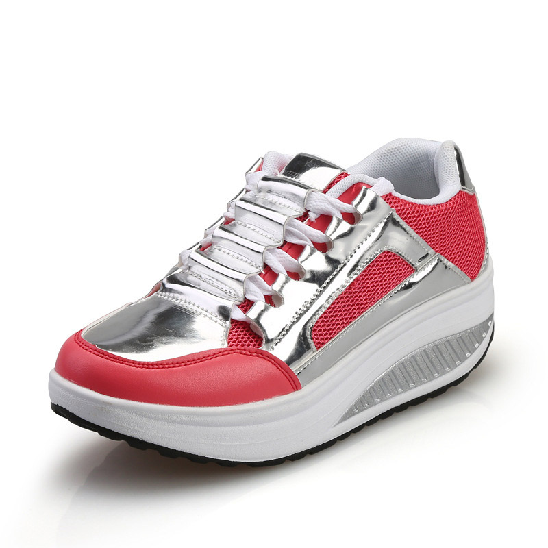 Automne 40 Rond Black Femme Appartements Femmes Taille Printemps Silver On Grand white 35 Casual Slip 2017 Bout Hee Plate black Argent Xwd4285 forme Chaussures red X0X4Uqn