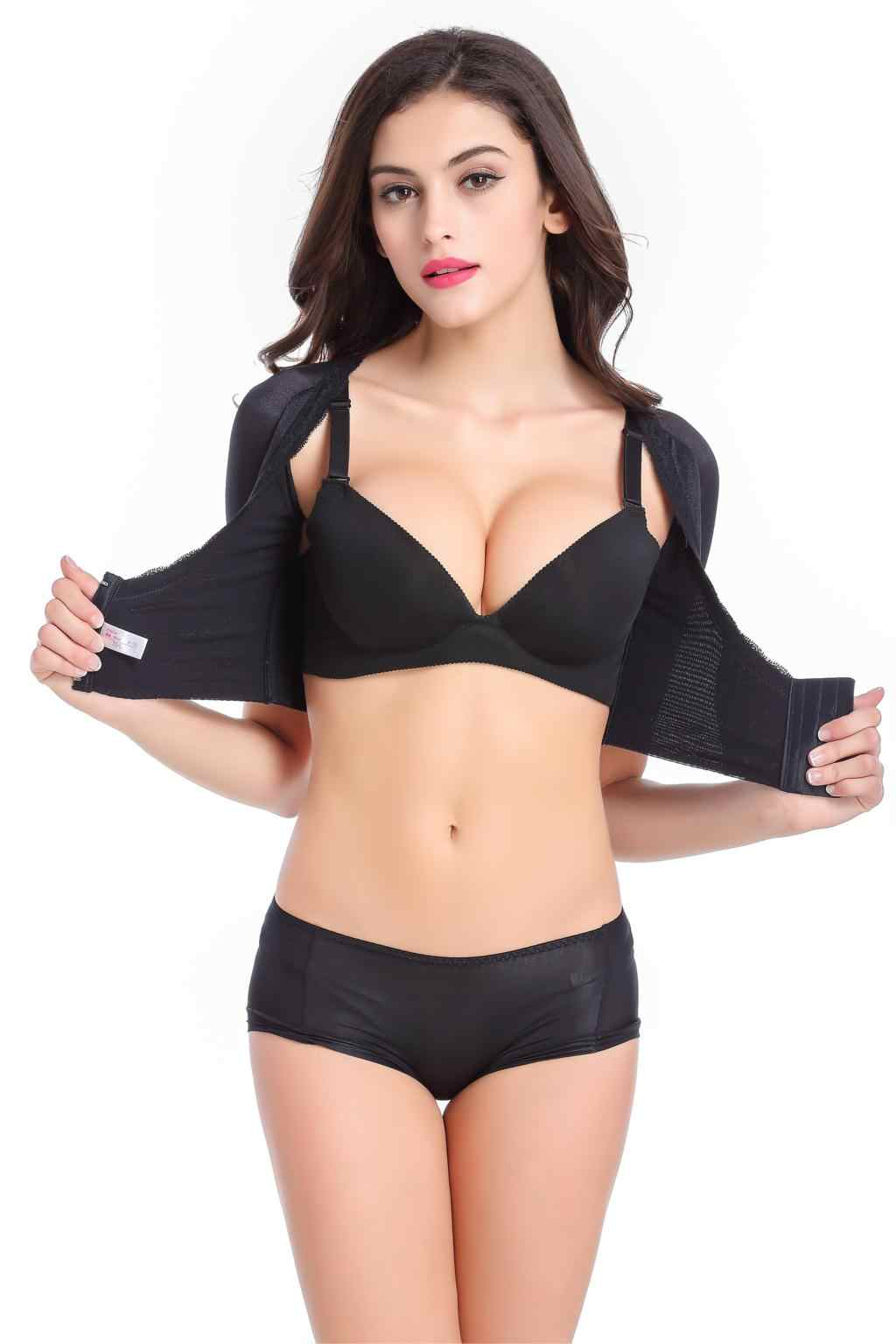 1e2e3ee68 ... Arm Shaper Shapewear Arm correction Slim Sleeves Underwear shaper arms  lift chest women shaper tops Short ...