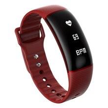 Фитнес трекер спортивный SmartBand браслет для IOS Android телефона bluetooth полоса с сердечного ритма умный Браслет Приборы для измерения артериального давления