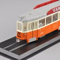 Atlas Toys 1/87 Diecast Bus Car Model Toys Blauwe wagen 465 Beijnes 1929 Tram Model Memorial Collections