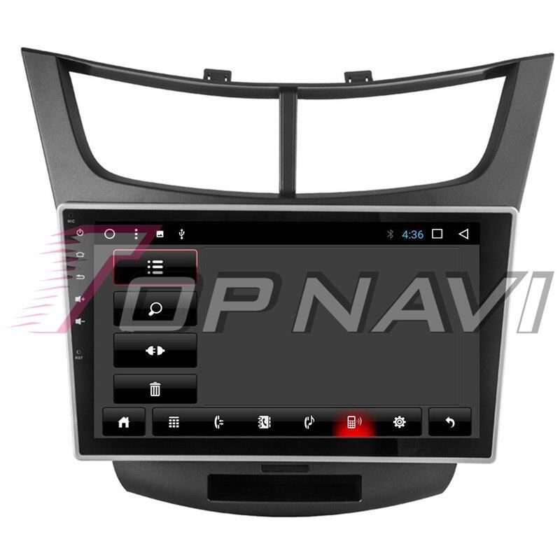 Автомобиля 10,1 ''Нет dvd плеер Android 8,1 для Chevrolet Парус 3 2015 Topnavi автомобильной MP3 MP4 gps навигации Bluetooth телефон - 4