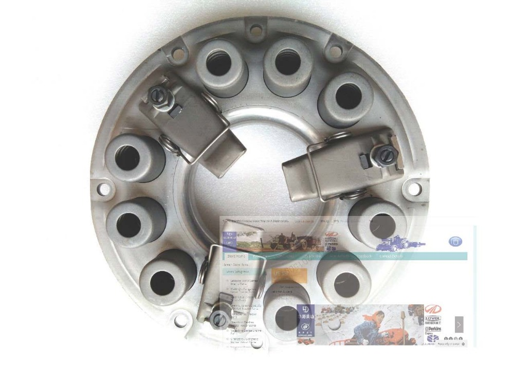 Fengshou FS184 Estate-184 the clutch single stage including the driven disc, release bearing sachs sd80310 clutch disc