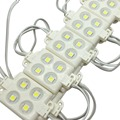100 Pcs 4 Leds módulo loja de corda LED branco fresco